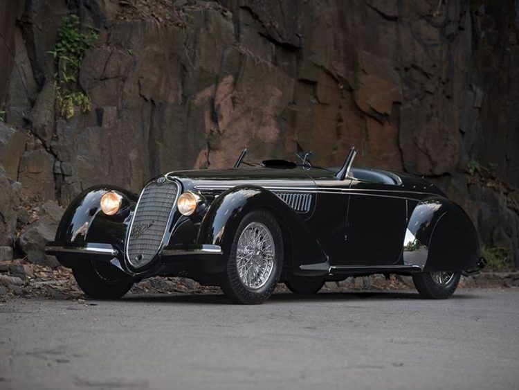 1939 Alfa Romeo 8C 2900B Lungo Touring Spider Sam Mann Collection