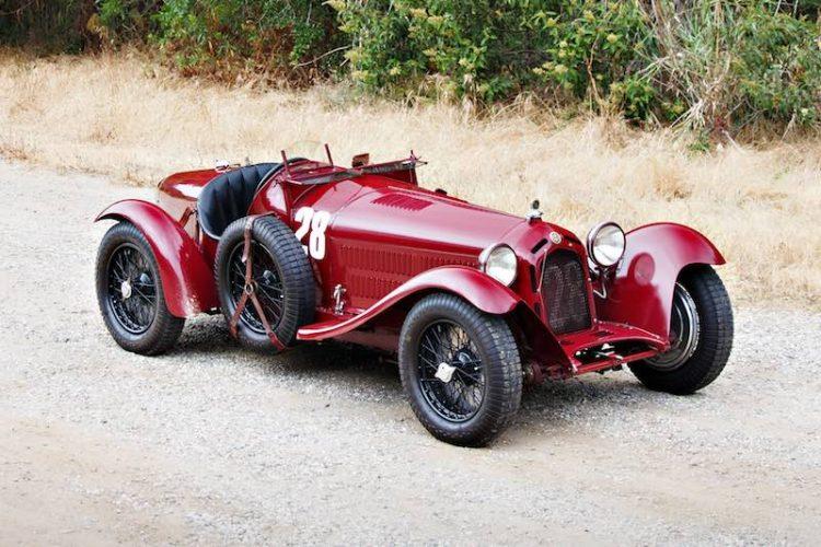 1933 Alfa Romeo 8C 2300 Monza (photo: Brian Henniker)