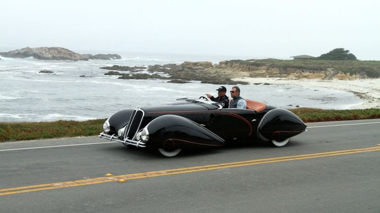 1938 Delahaye 135M Figoni et Falaschi Roadster