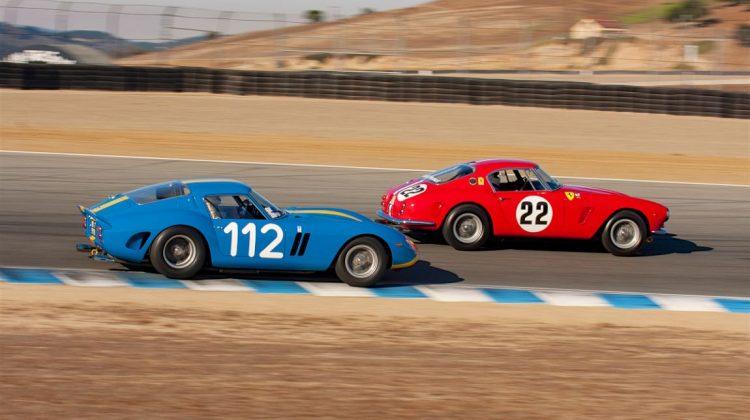 (L-R) Chris Cox - Ferrari 250 GTO, Robert Bodin - Ferrari 250 GT SWB