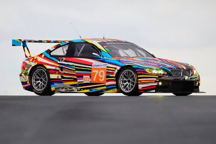 M3 GT2 BMW Art Car by Jeff Koons