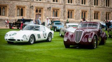 1962 Ferrari 250 GTO and 1932 Alfa Romeo 8C 2300 Viotti Coupe