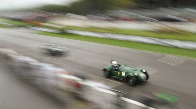 Frazer Nash Le Mans Replica, 2016 Goodwood Revival, Lavant Cup (photo: Adam Beresford)
