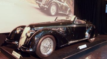 1939 Alfa Romeo 8C 2900B Lungo Spider, Body by Touring