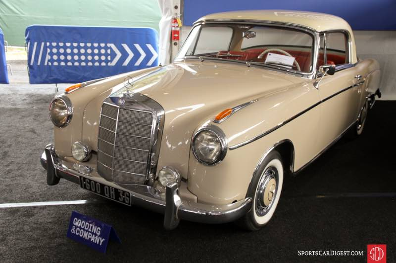 Gooding and company pebble beach 2016 auction report for 1957 mercedes benz 220s
