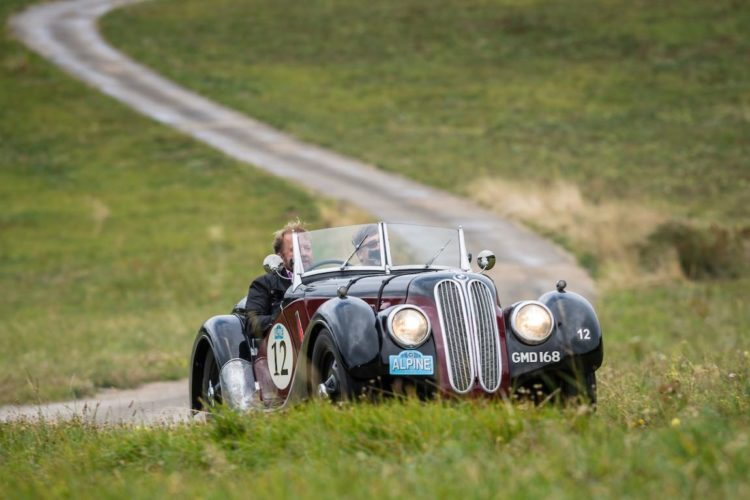 Car 12 Martin Hunt (GB) / Robert Mannix (GB) 1937 Frazer Nash BMW 328