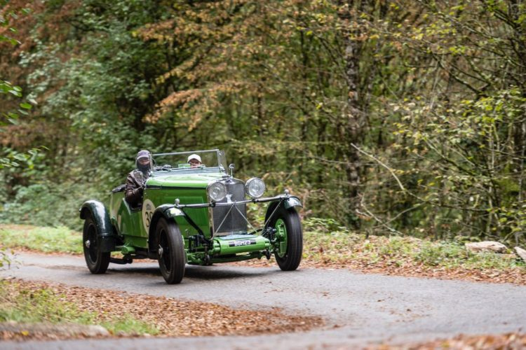 Alpine Trial 2016 - Car 39 Wilfried Schaefer (D) / Sandra Hubner (D) 1934 Talbot 105 Alpine