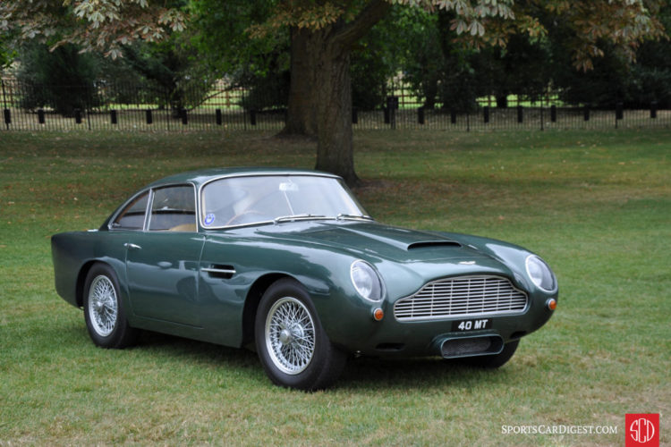 Aston Martin DB4 Series 5 Vantage GT Coupe (1963)
