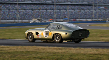 An Aston Martin DP214 is back at Daytona after 52 years.