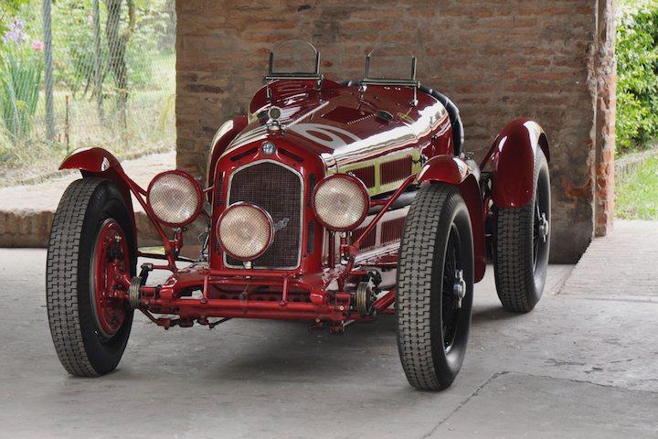 Ex-Nuvolari Alfa Romeo 8C 2300 won 1933 Targa Florio