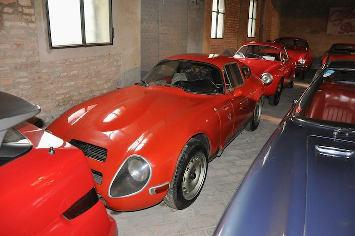 Alfa Romeo Giulia TZ, Alfa Romeo Giulietta SZ and Alfa Romeo Sprint Speciale
