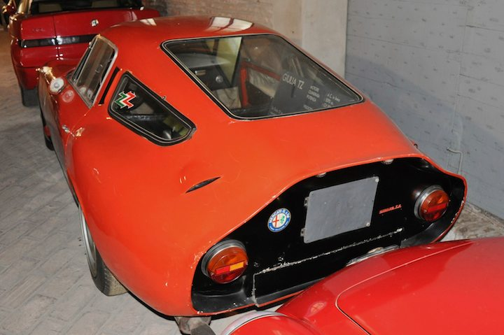 Rear of Alfa Romeo Giulia TZ
