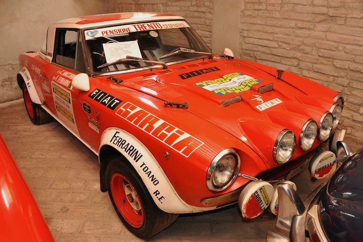 Fiat Abarth Rally Car