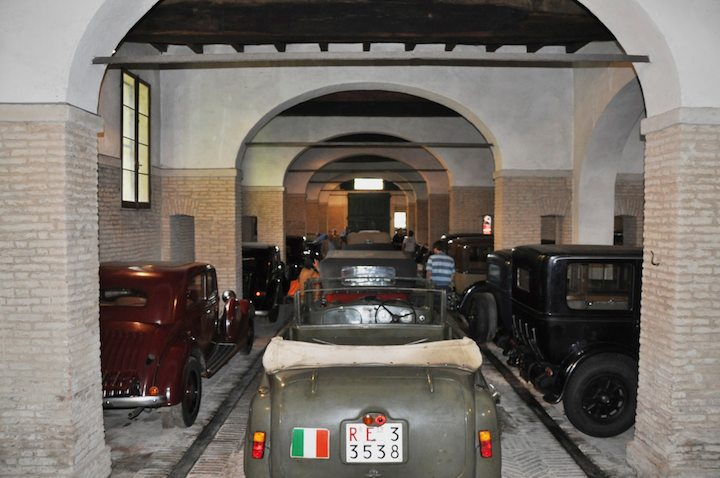 Alfa Romeo 6C 2500 Colonial Torpedo Militare and Pre-War Collection of Mario Righini