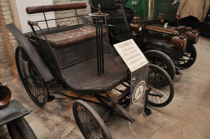 1894 Velo Benz is credited with being the first standardized car
