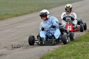 Ed McDonough - Vintage Karting
