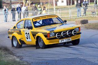 Opel Kadett at speed