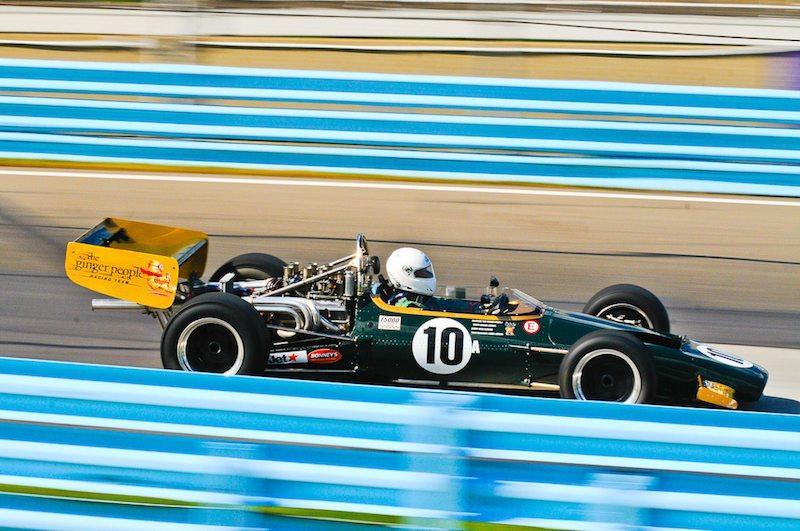 Bruce Leeson - 1969 McLaren M10B F5000