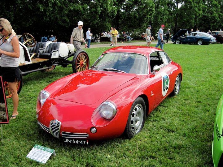 1961 Alfa Romeo Giulietta Sprint Zagato Coda Tronca