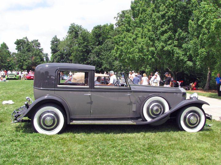 1933 Rolls-Royce Phantom II Brewster Town Car - Best of Class, nternational Designers and Coachbuilders Great Britain