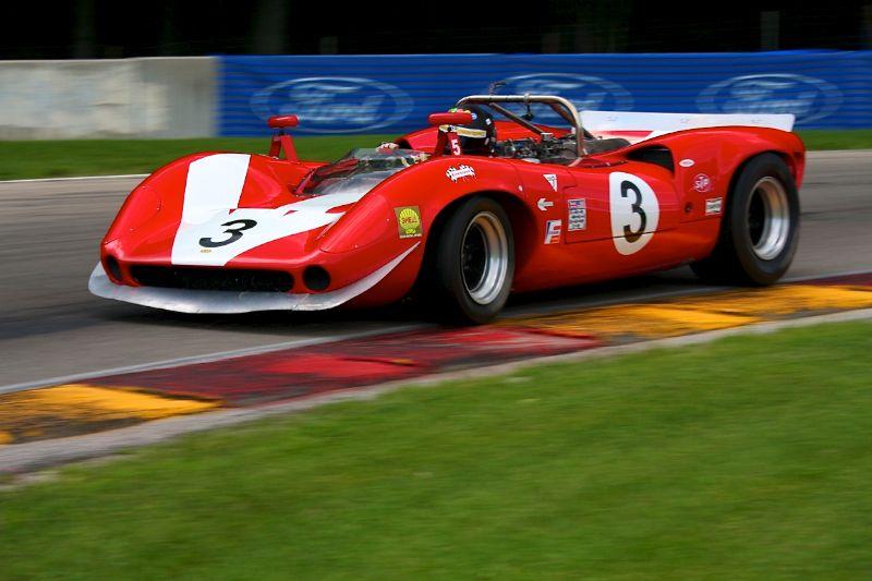 Lola T70 Mk II - Johan Woerheide