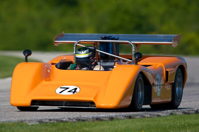 #74 Tom Malloy - 1971 McLaren M8E