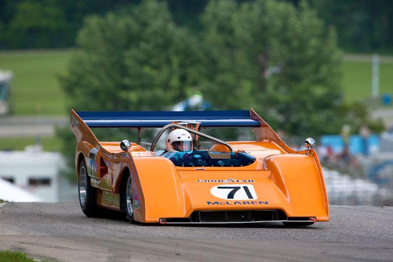 #71 Scott Hughes - 1971 McLaren M8F