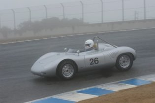 1959 Porsche RSK driven by Joe Lacob.