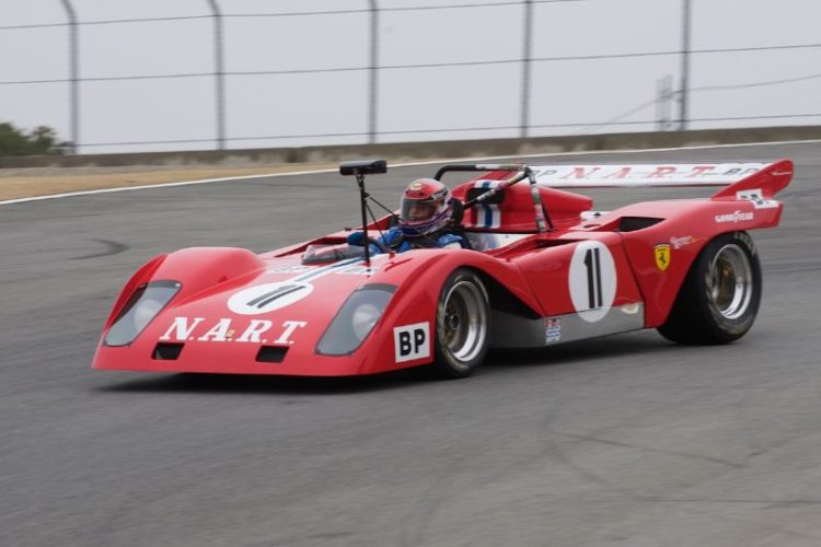 1972 Sparling Ferrari Special driven by John Goodman.