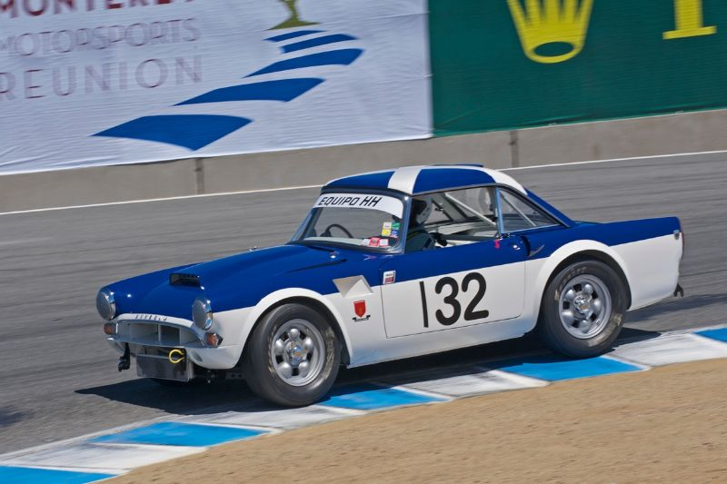 1965 Sunbeam Tiger driven by Chris Gruys.
