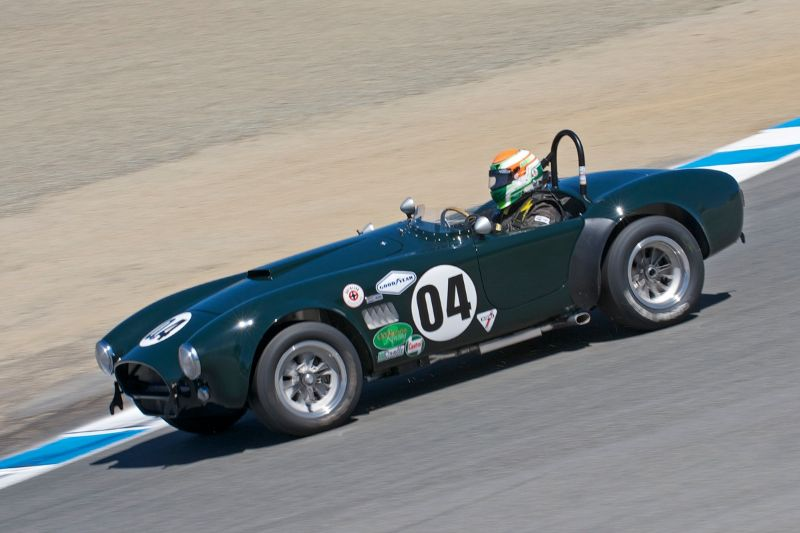 1963 Cobra 289 driven by John McKenna.