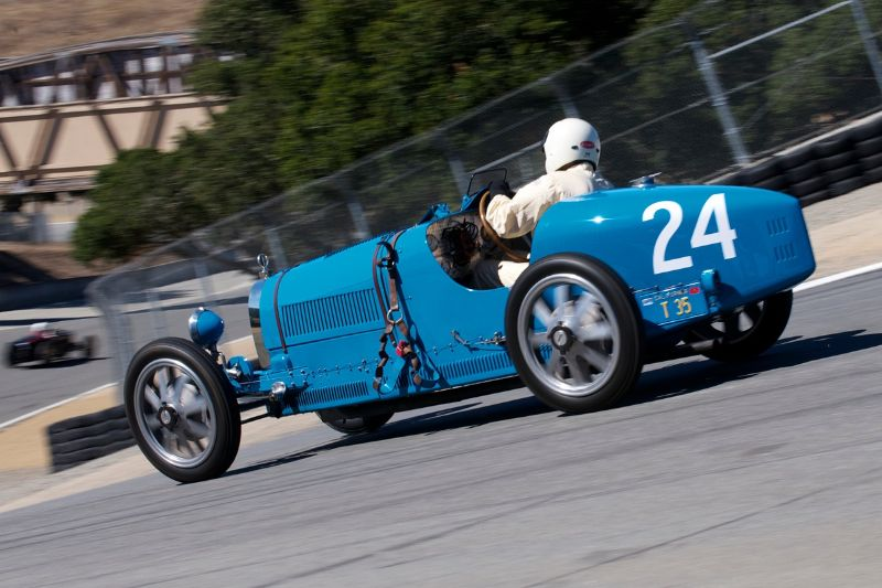 1924 Bugatti Type 35 driven by Richard Haga.