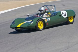 1963 Lotus 23B driven by Mitch McCullough.