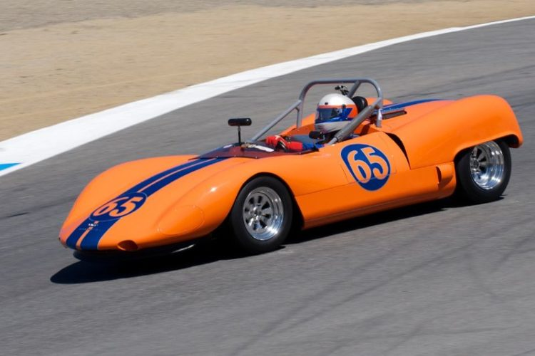 Beautiful aluminum space frame 1964 Bobsy Porsche SR3 driven by Don Anderson.