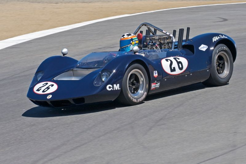 1965 McLaren M1A of Edith Arrowsmith.