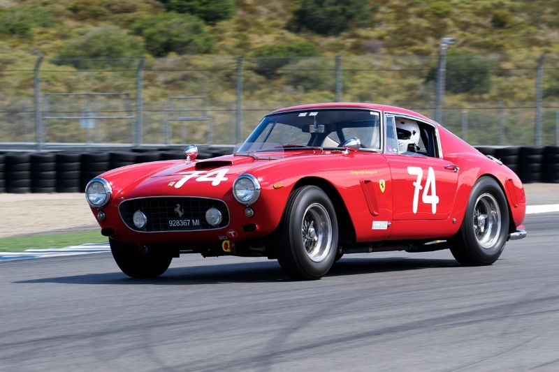 1961 Ferrari 250 GT SWB driven by Ned Spieker.