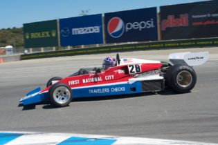 Douglas Mockett in his 1976 Penske PC4.