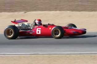 Brad Hoyt's 1969 Ferrari 312.