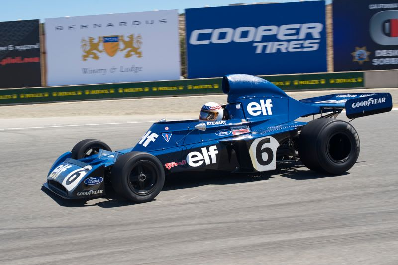 1972 Tyrrell 006 driven by John Dellane.