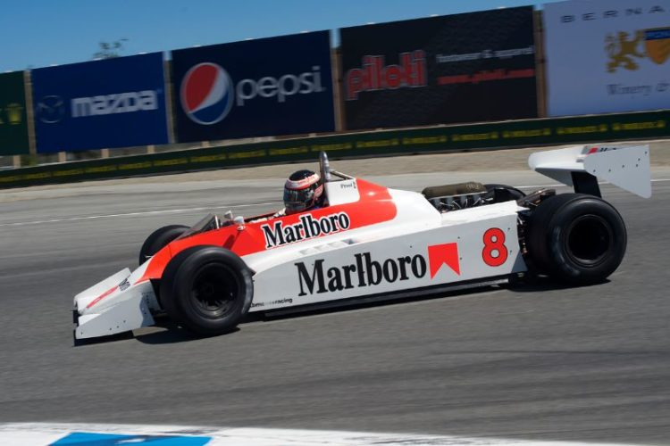 1980 McLaren M30 driven by Sean Allen.