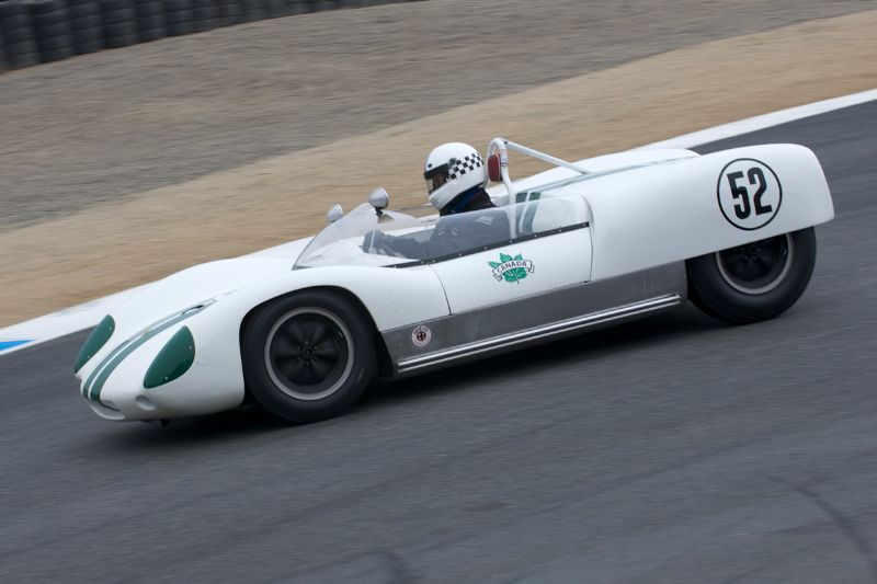 1960 Lotus 19 driven by Carl Moore.