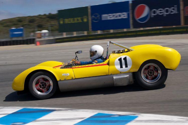 Mike Blackie's 1964 Huffaker Genie MK 10.