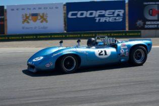 Nick Colonna's 1967 Lola T70 Mk 3B.
