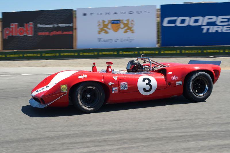 Johan Woerheide's 1966 Lola T70 Mk 2.