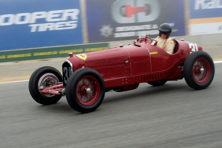 1930 Alfa Romeo Tipo B P3 of Peter Giddings