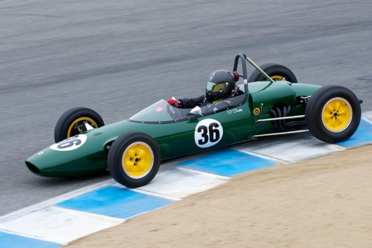 Second place in group 6A went to Danny Baker's 1963 Lotus 27.