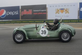 Class winning 1951 Frasier Nash Le Mans of Herb Wetanson