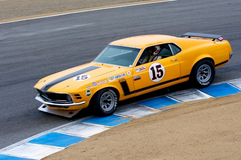 1970 Ford Boss 302 Mustang driven by Brian Ferrin.