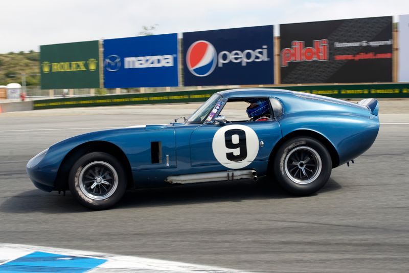 First place in group 7B for Rob Walton's 1965 Shelby Cobra Daytona Coupe.