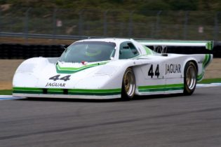 Rick Knoop drove his Jaguar XJR5 to first place in group 9A.